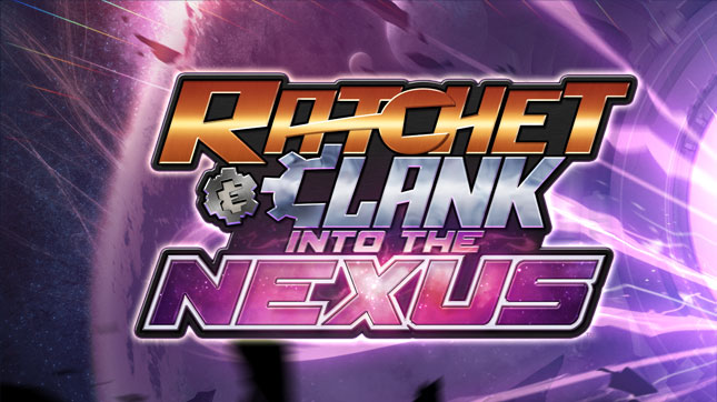 Ratchet and Clank Into the Nexus logo
