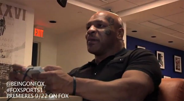mike tyson plays punch out