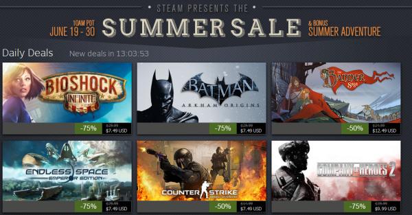 Steam Summer Sale day 7