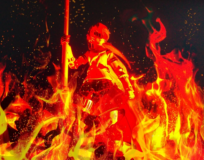 figma labyrs on fire