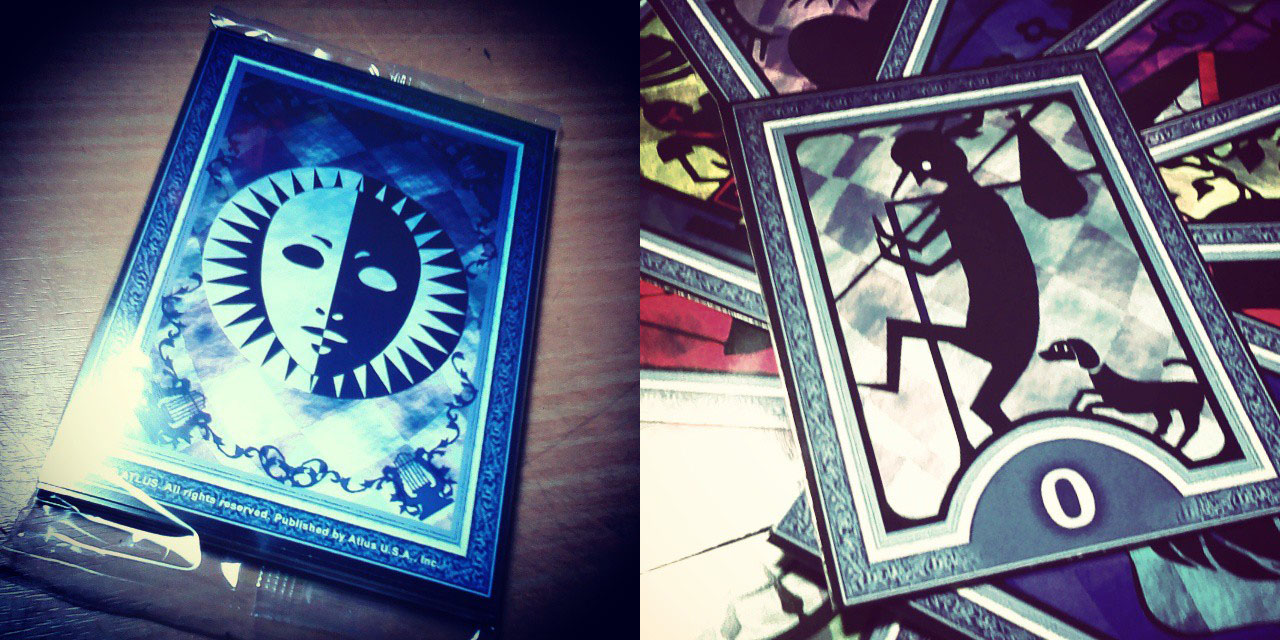 P4AU tarot cards