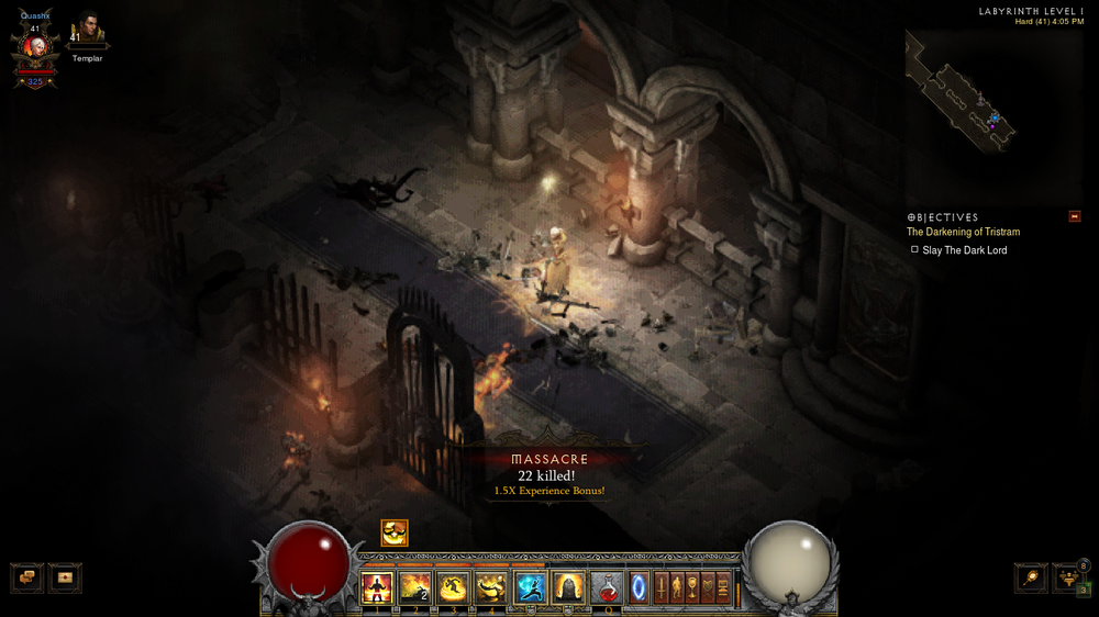 How I wish we can keep this UI skin for the rest of Diablo 3.