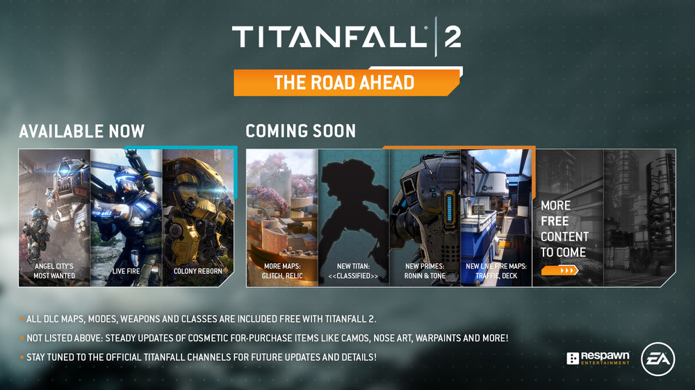 Titanfall 2's next batch of updates.