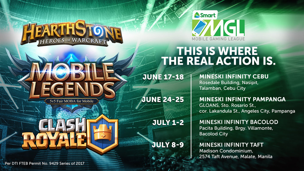 smart s mobile gaming league will have hearthstone mobile legends