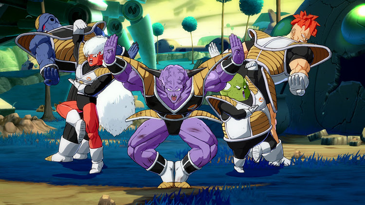 Captain Ginyu Is One Of The Most Memorable Characters In Dragon Ball Franchise Simply Because His Forces Shown Above Just Look At Them