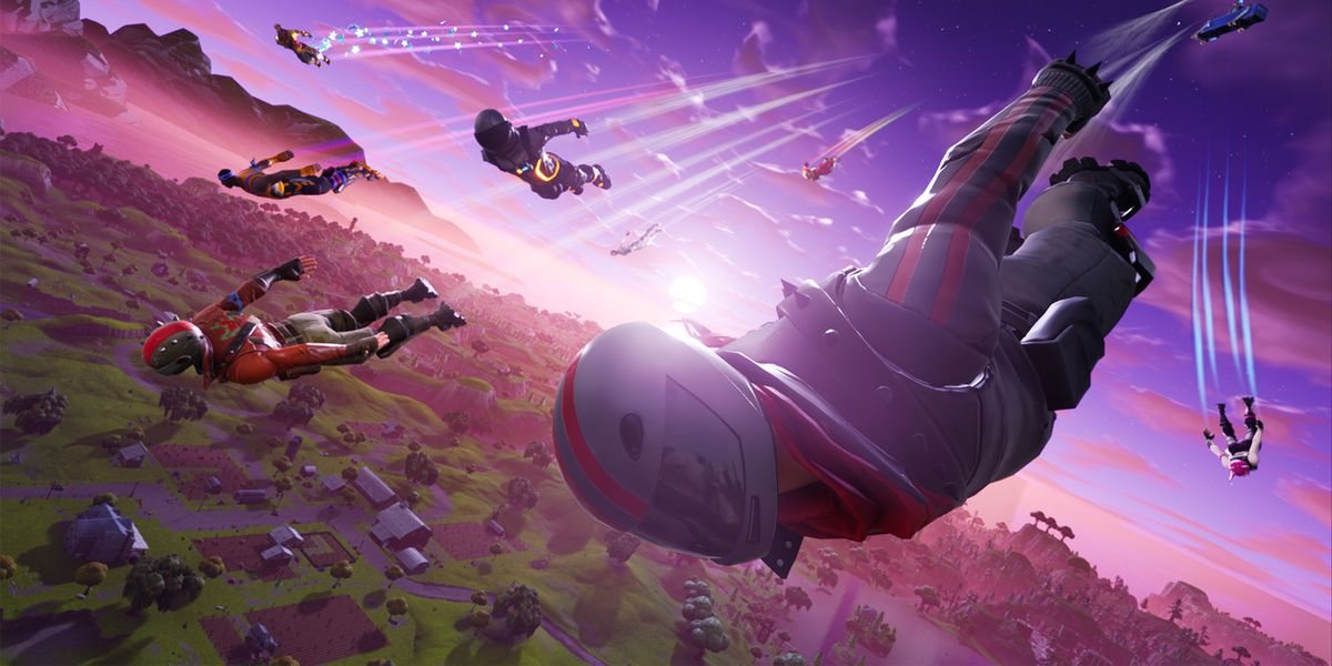 Fortnite Player Takes Out Rocket Viewing Party Setting A New Solos