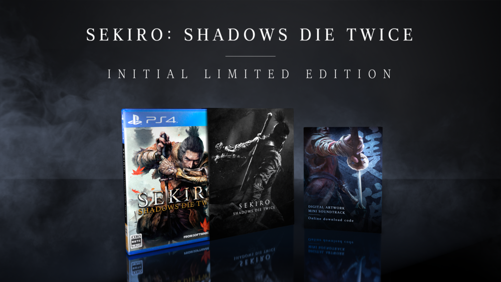 Pre-order Sekiro: Shadows Die Twice on PSN earns you a PS4 theme as a bonus.
