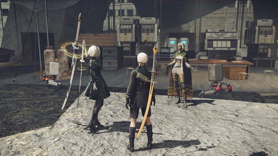 Nier: Automata 9s and 2b