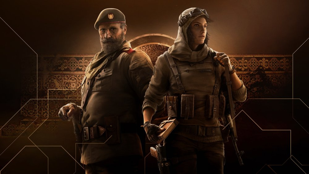 Operators in Operation Wind Bastion - Kaid and Nomad.