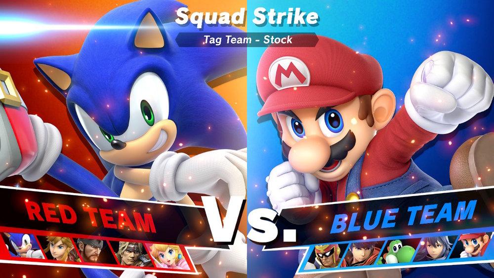 Super Smash Bros. Ultimate Squad Strike.