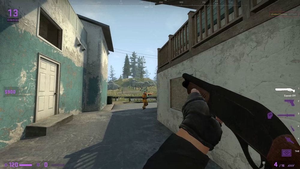 CSGO Danger Zone gameplay.