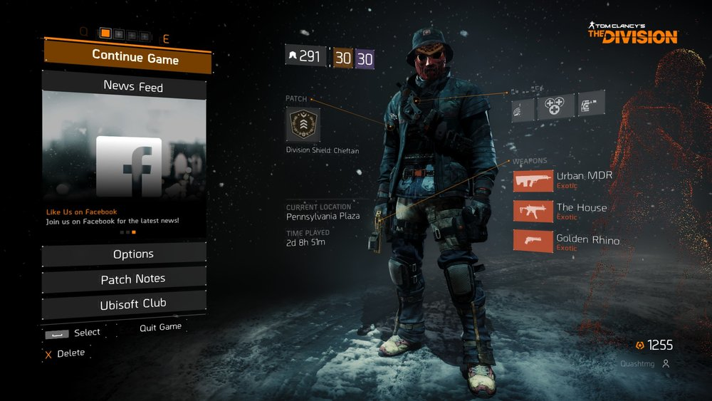 Experienced everything The Division has to offer weeks before  The Division 2 .