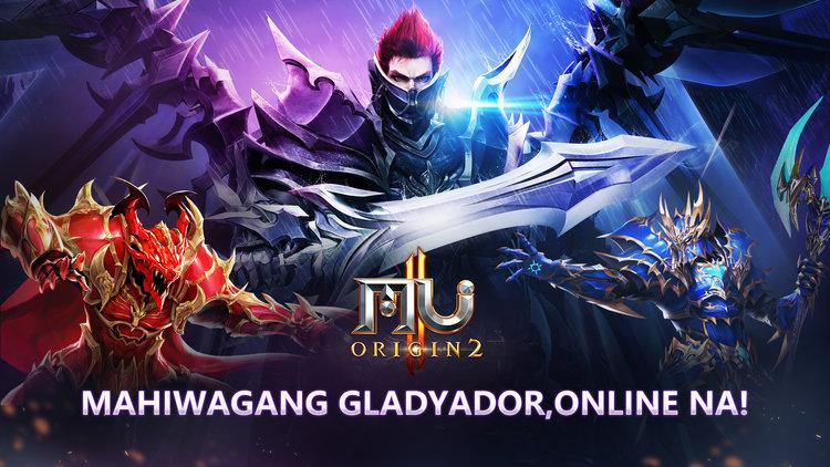MU Origin 2's Filipino Version and Magic Gladiator Class Now