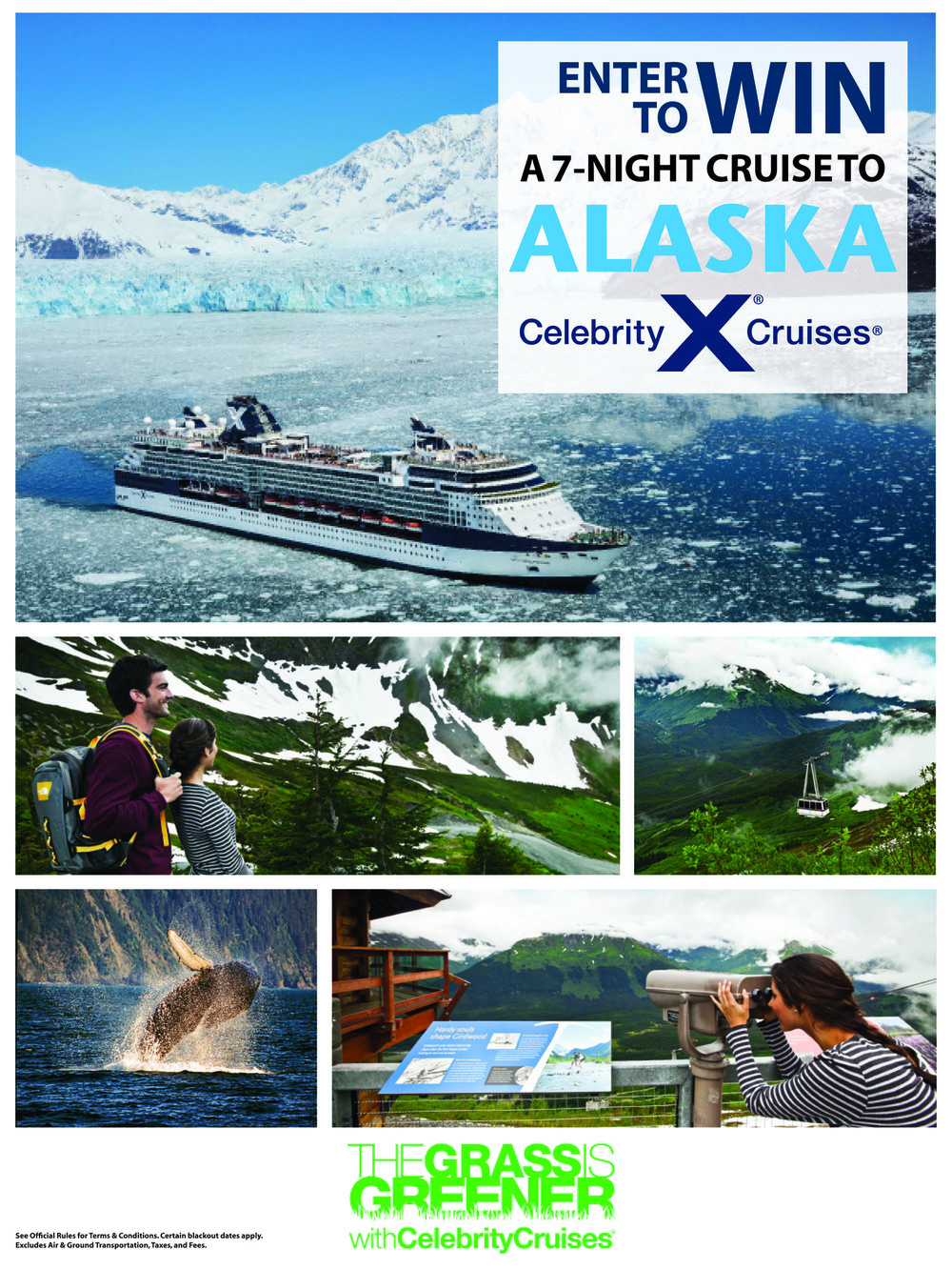Poster: Celebrity Cruises Enter to Win