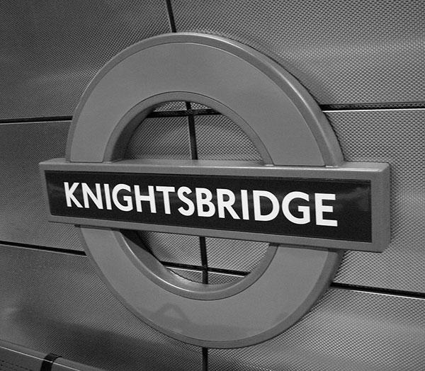 Knightsbridge Tube