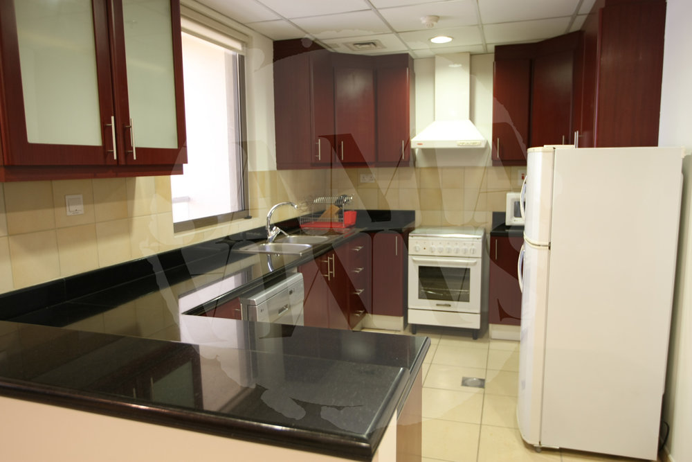 The kitchen is fully equipped with everything you need during your stay