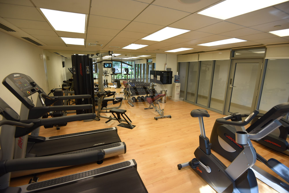 The building has a state-of-the-art gym with all the latest accessories to meet your workout needs