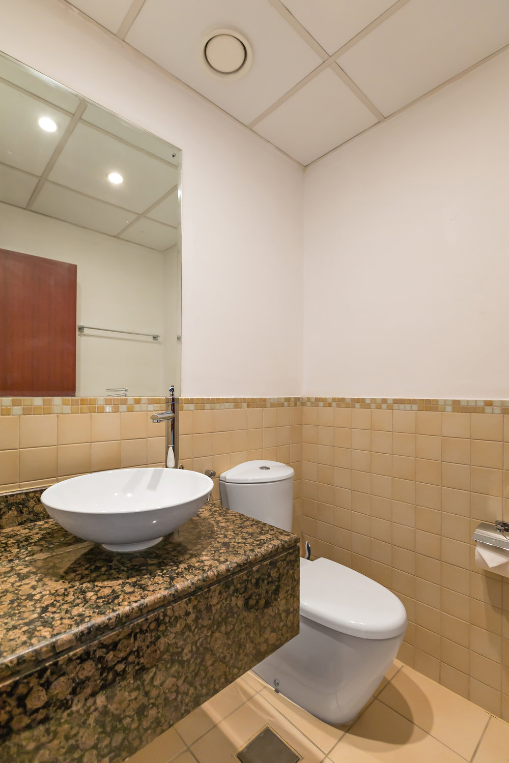 The bathroom fully equipped for your stay, with complimentary towels during your stay