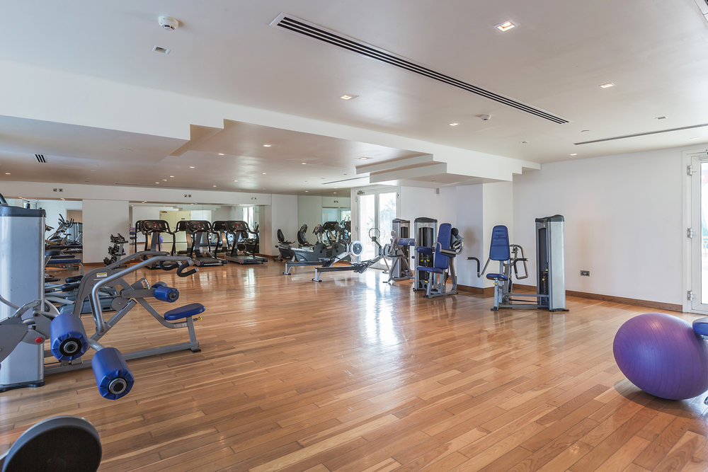 Fully equipped gym to keep you fit