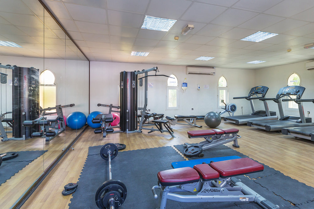 Fully equipped community gym