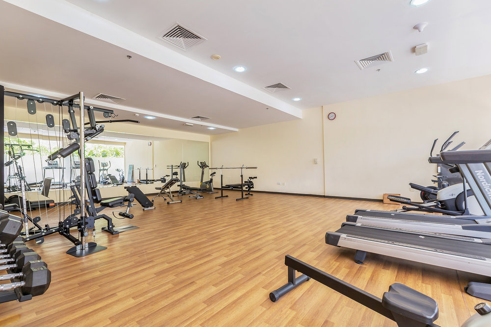 Get moving with this fully-equipped gym