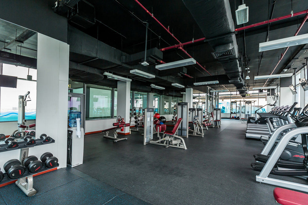 Fully Equipped gym!