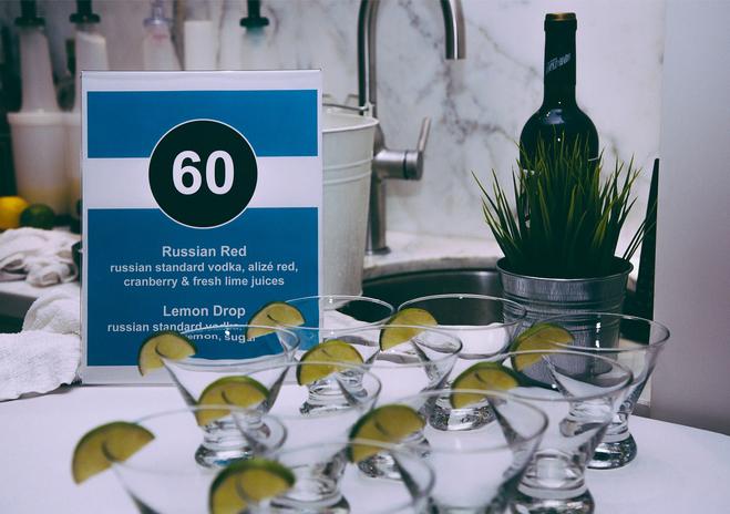 60th Birthday Bar