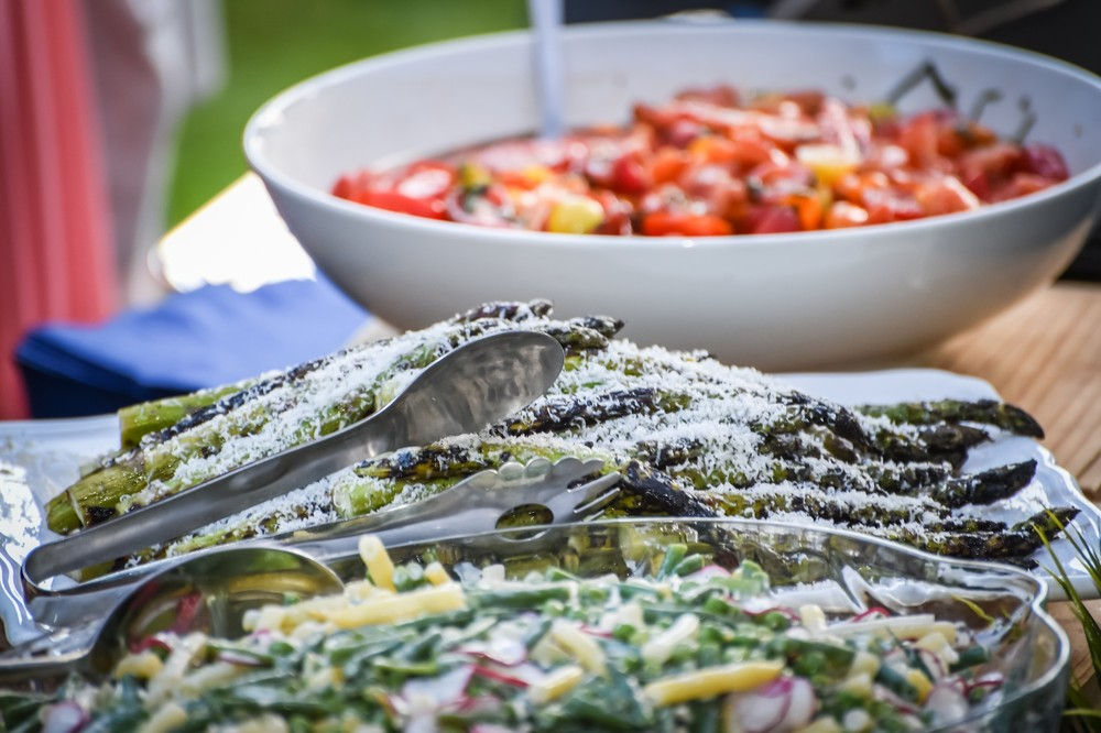 Summer Salads in the Garden