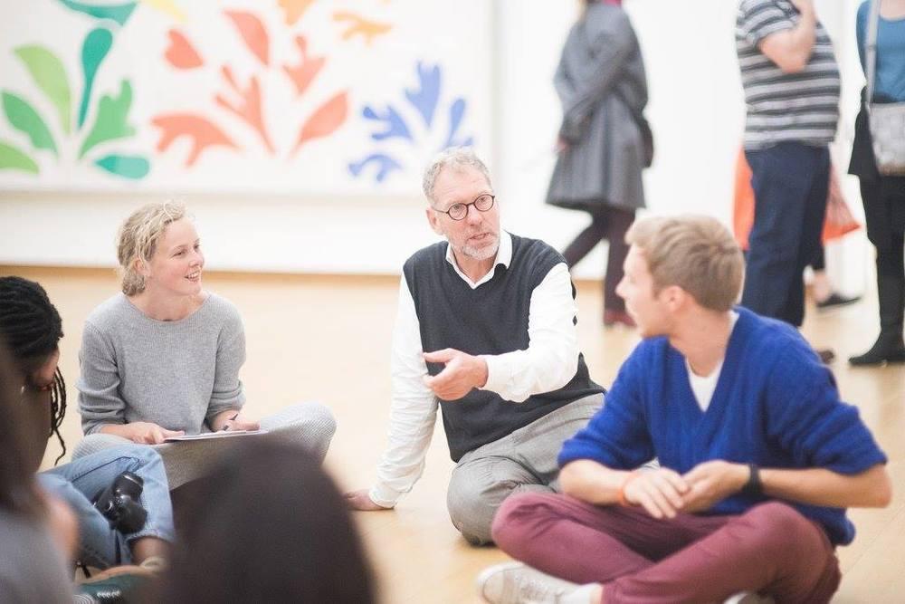 workshop Ton Meijer in het Stedelijk Museum Amsterdam