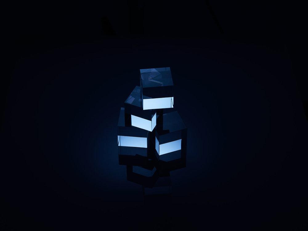 Blue Cubes 1