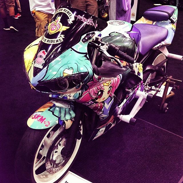 #sailormoon #bicycle #because #ax