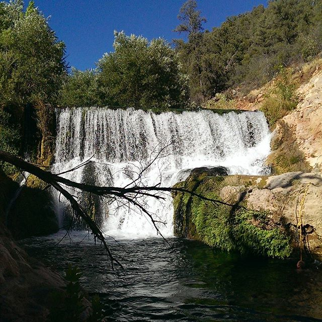 #fossilcreek #hiking #Arizona #waterfall #nature #landscape #natrualpool