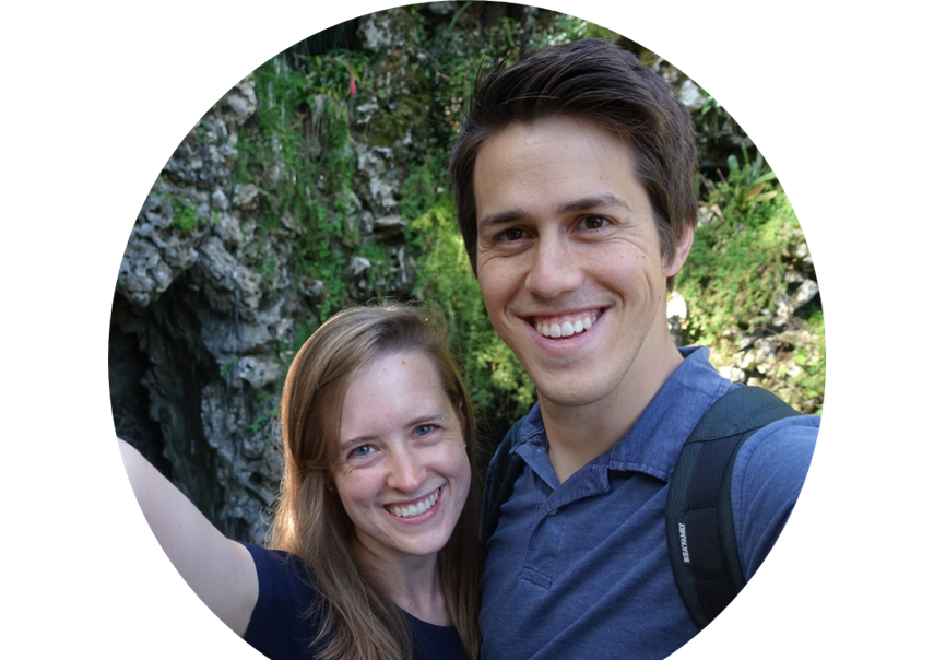 Chasing Blue Skies + Acai Bowls Since 2013 - Hi, we're Shannon and Danny, and we are the Everetts!  A few years ago, we moved from Colorado to Spain to try out teaching English and living in Europe.