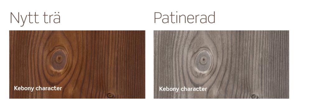 Fasadvirkets NCS-nr ska anges i bygglovsansökan, men Kebony-behandlat träsom vi valt är föränderligt. Det kan gå från djupt brunt till vackert silvergrått på bara 2-3 år. Behöver kolla upp vad jag ska fylla i där.