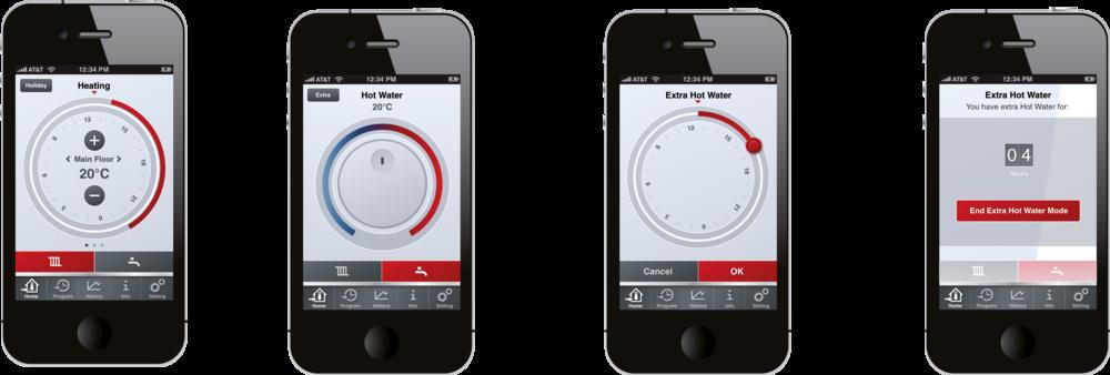 Full koll på värmen med IVT:s app.