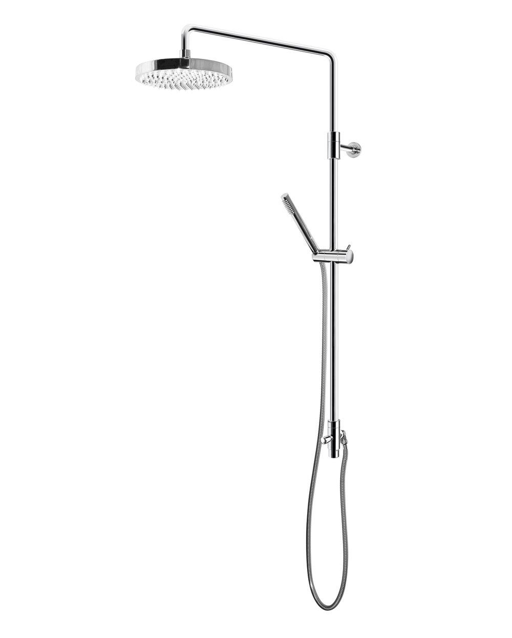 Duschset med takdusch Gustavsberg G2 (4931 kr).