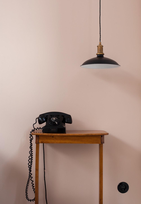 Noels rum blir i Auro Sidenväveriet.