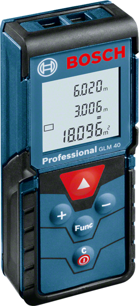 Bosch GLM 40 avståndsmätare, 990 kr.