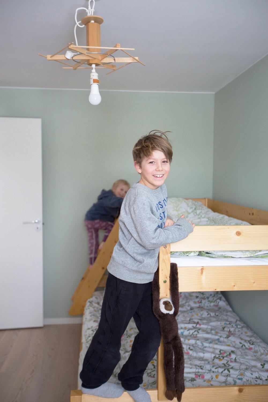 Mion och Noels rum.