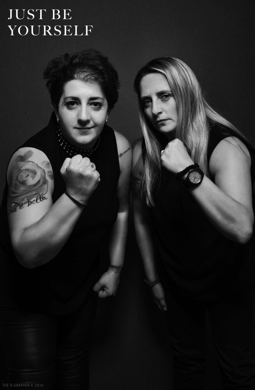 Christel et Tania photo prise par The O-Grapher