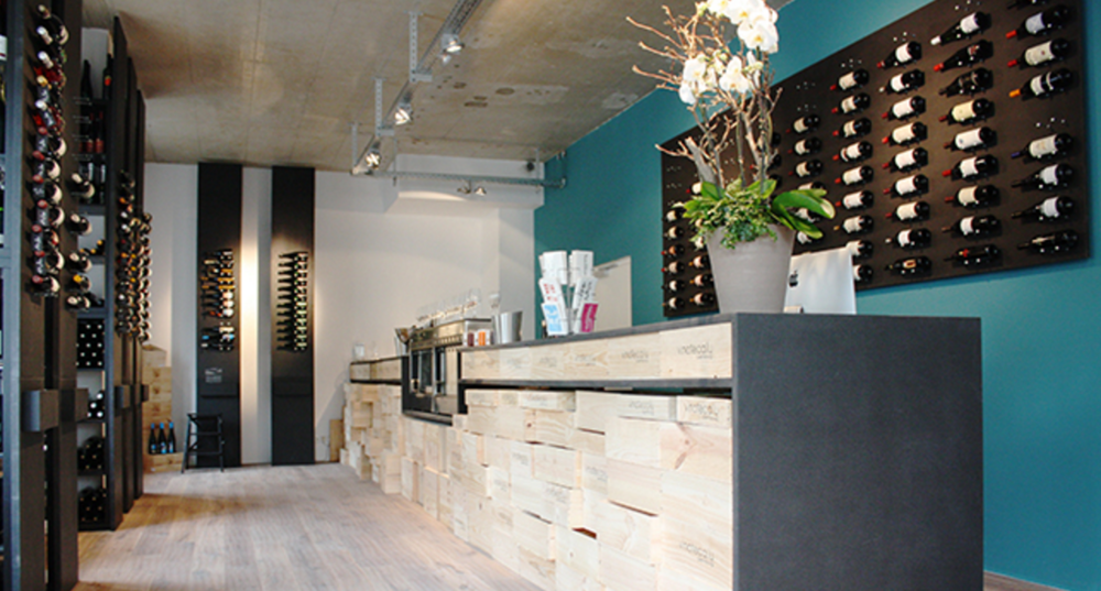 L'un des magasin de La Vinoteca