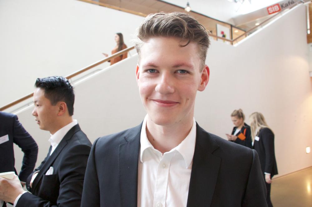 Tobias Neraas, leder i Springbrettets Prosjektgruppe