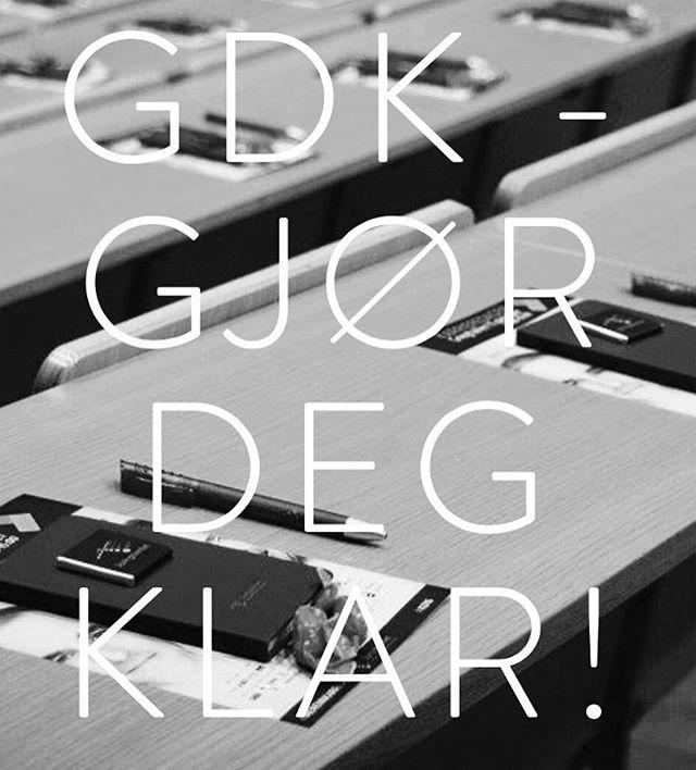 I morgen er det duket for GDK! Vårt arrangement som gjør deg best mulig forberedt til Karrieredagen 2017. Sjekk ut saken vår for å lese hva du har glede deg til⭐️ http://www.springbrettet.org/