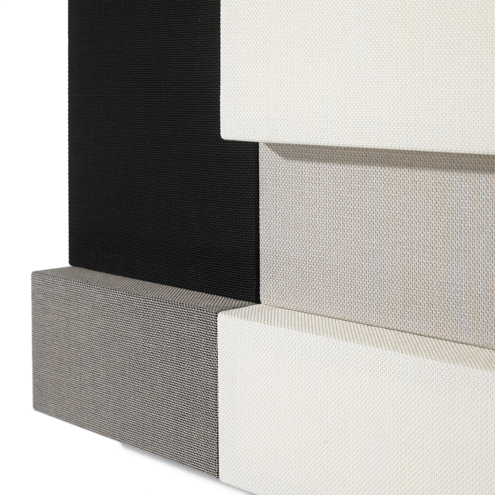 Whisper acoustic panels depth. 4 and 10 cm