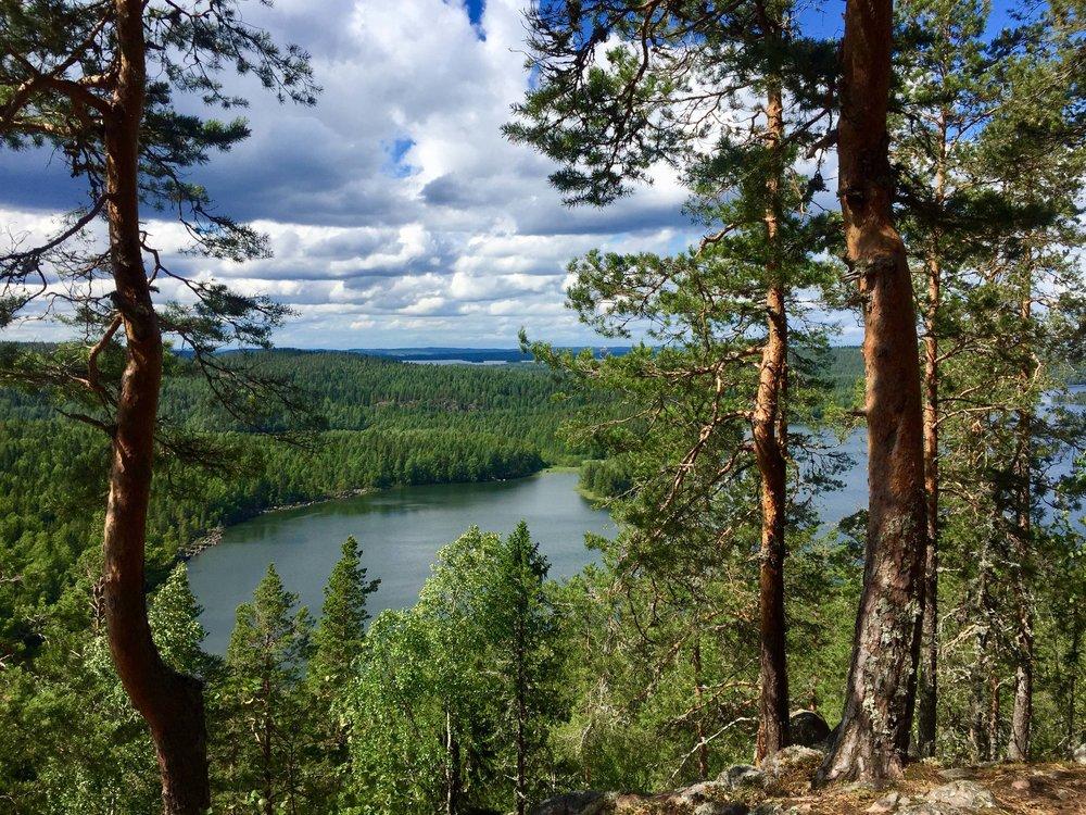 Finland in the summer. ..Suomi kesällä.