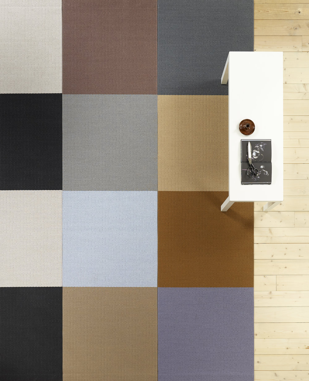 Squareplay carpets.
