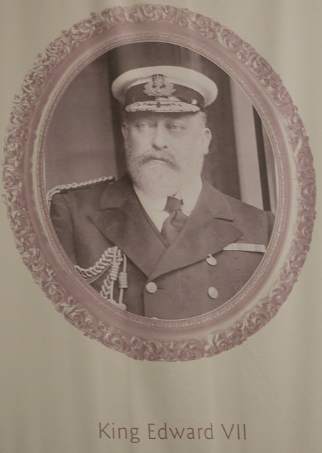 King Edward VII (image courtesy of Thomas's Pics)