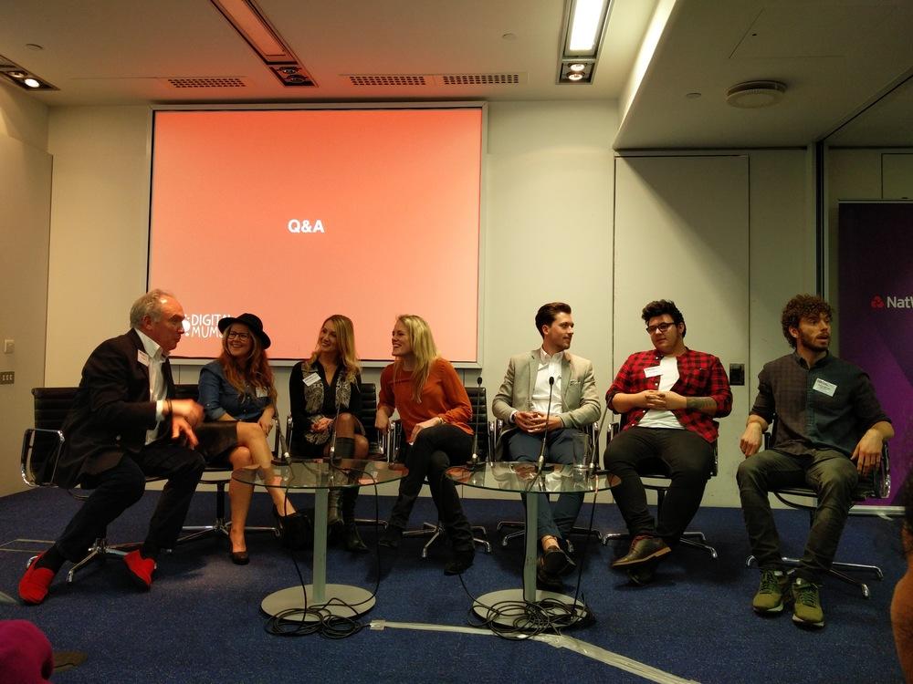 The Social Media expert panel