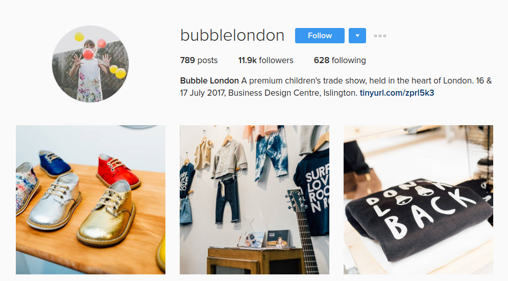 bubble london instagram