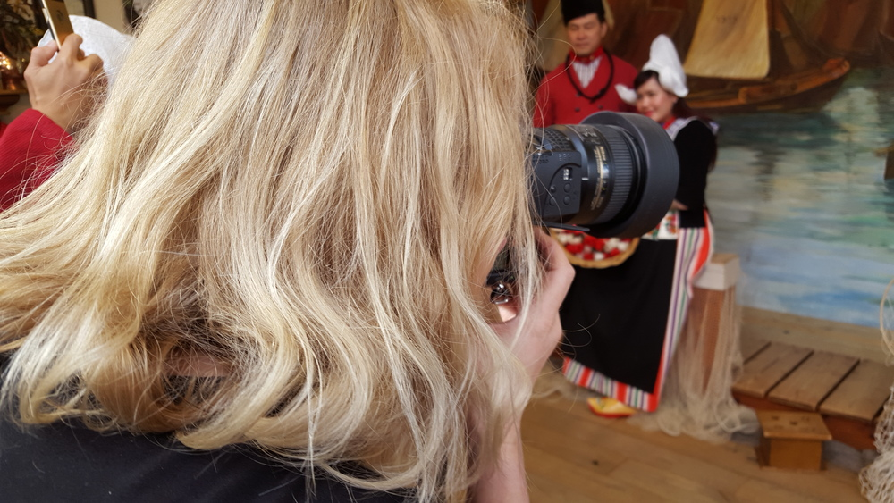 foto in klederdracht Volendam stelletje